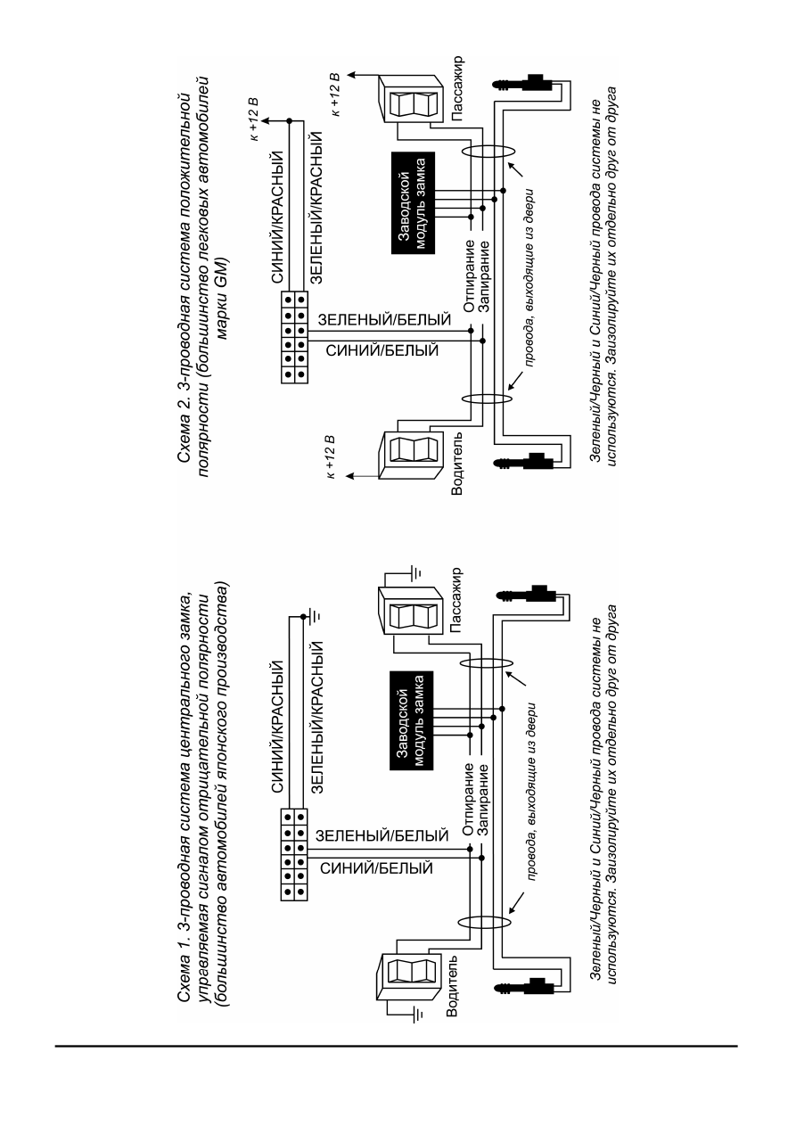 схема подключения сигнализация аллигатор s 325
