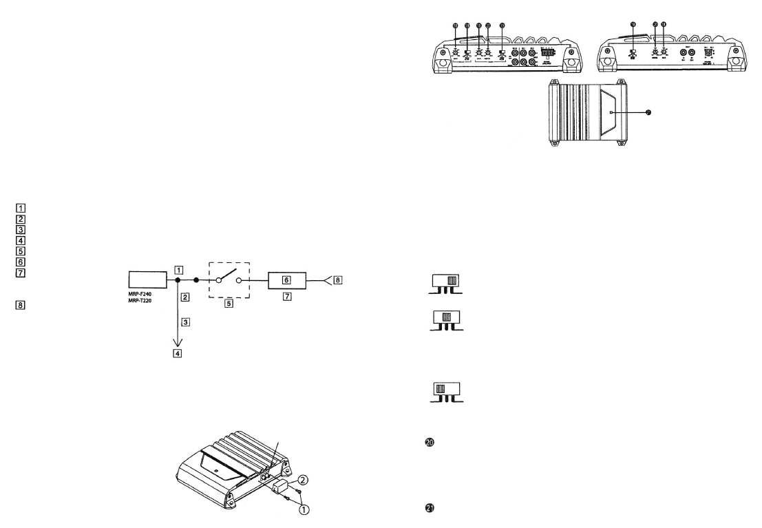 Alpine mrp-f240 схема