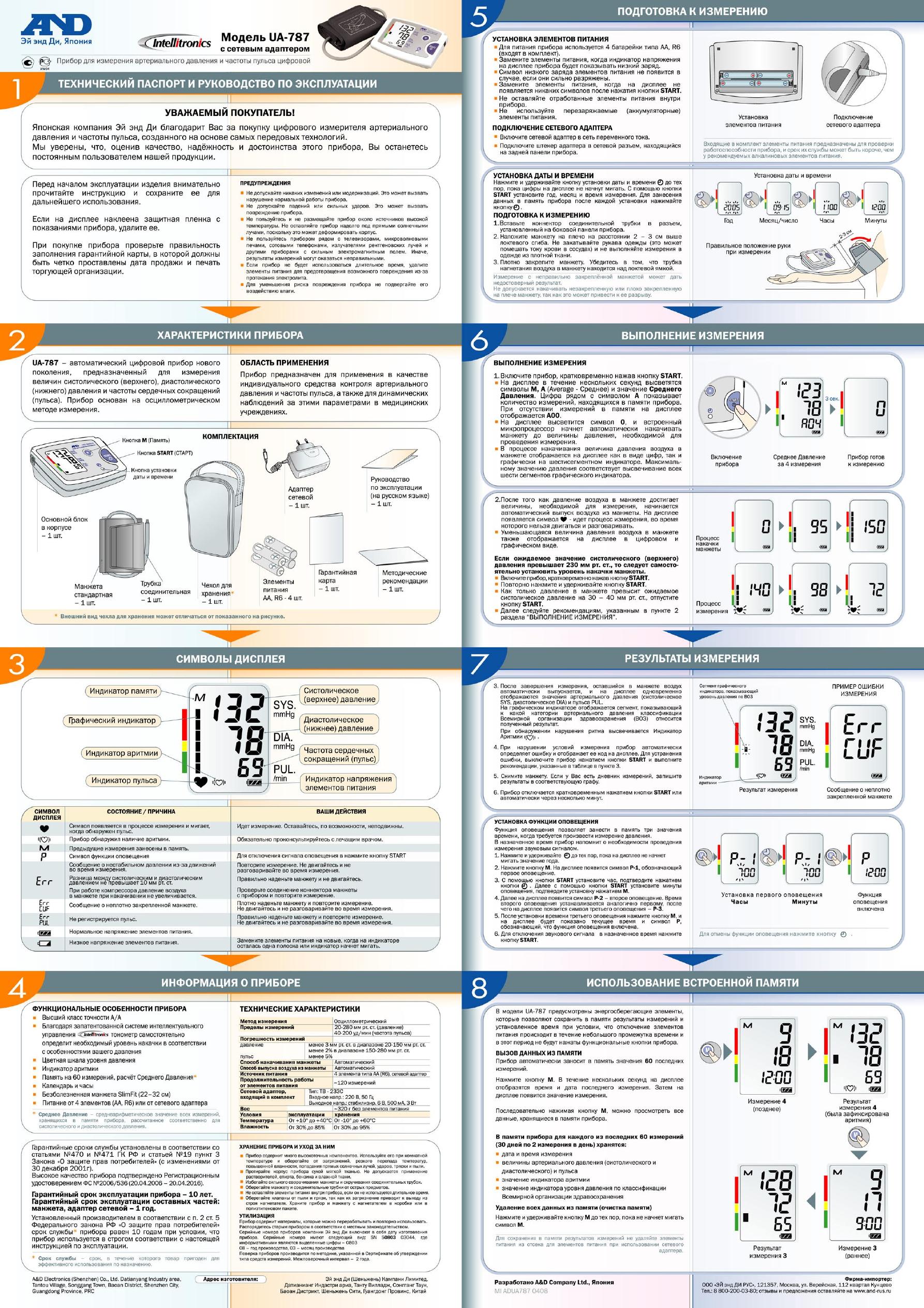 тонометру and medical инструкция к