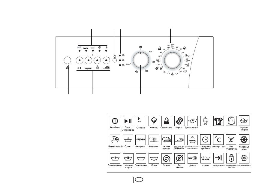 Стиральная Машинка Веко Инструкция По Применению Режимы Стирки img-1