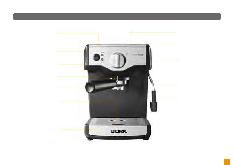 Bork 9617 инструкция - фото 2