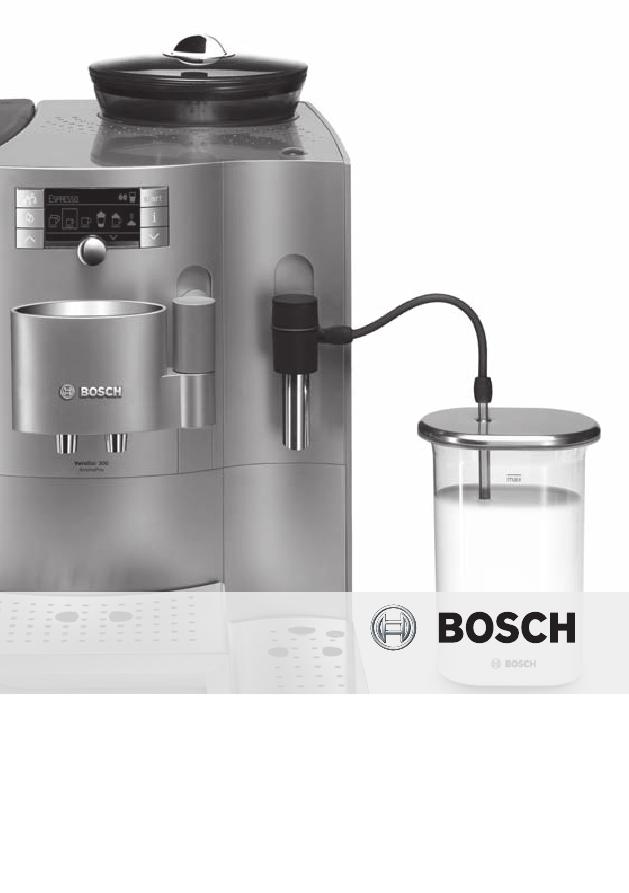 инструкция кофе машина Bosch Tes 71321 Rw