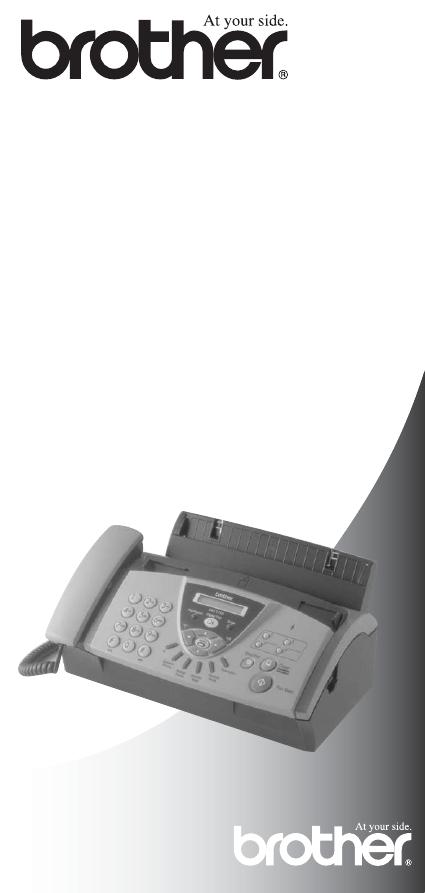 Brother fax t104 инструкция