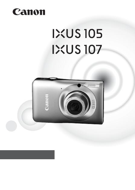 Canon Ixus 105 Инструкция Русский - фото 4