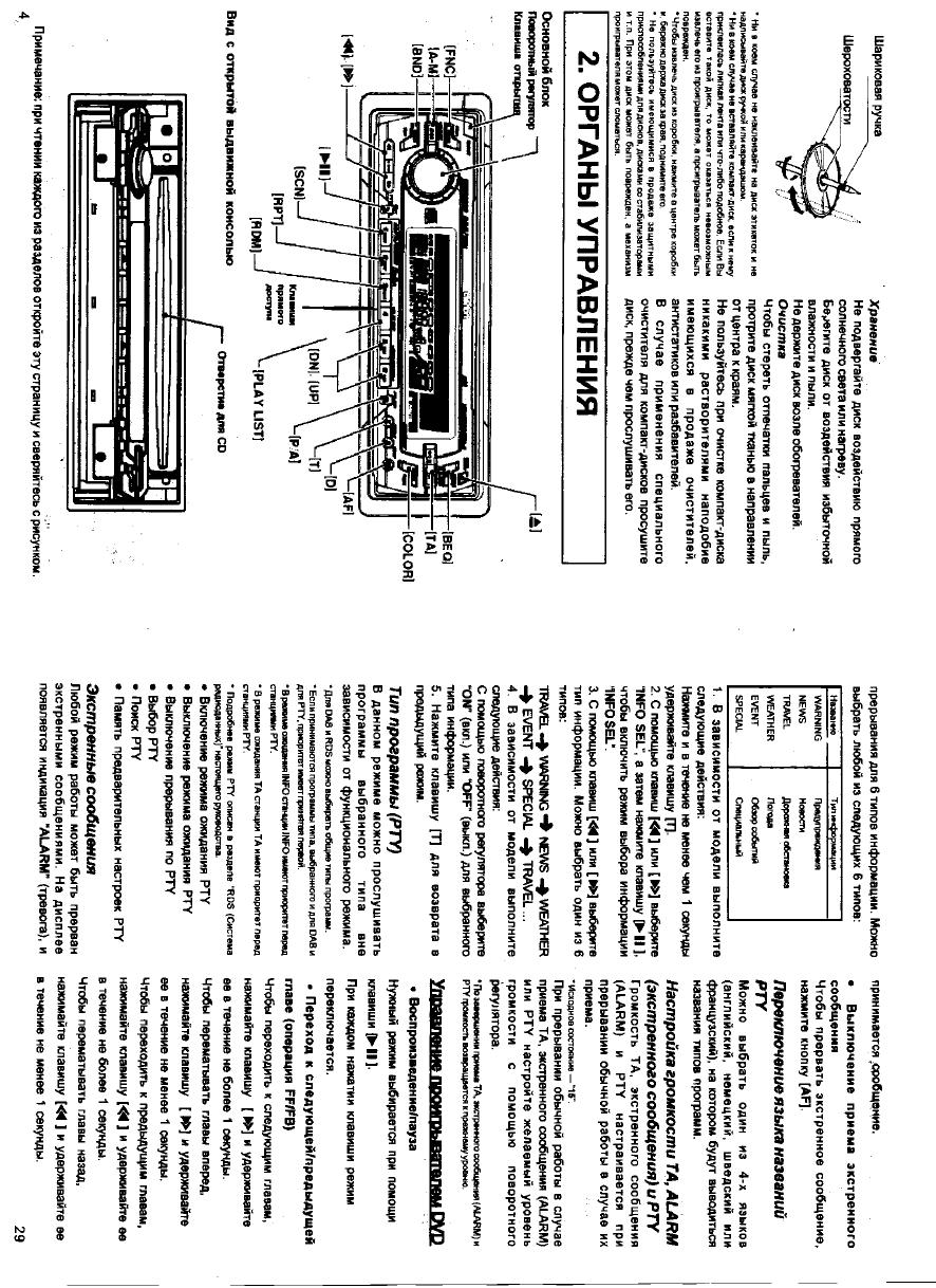 автомагнитола erisson инструкция