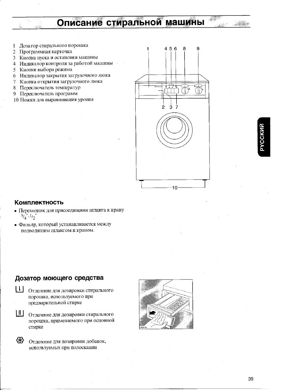 Стиральные машины electrolux инструкции по эксплуатации