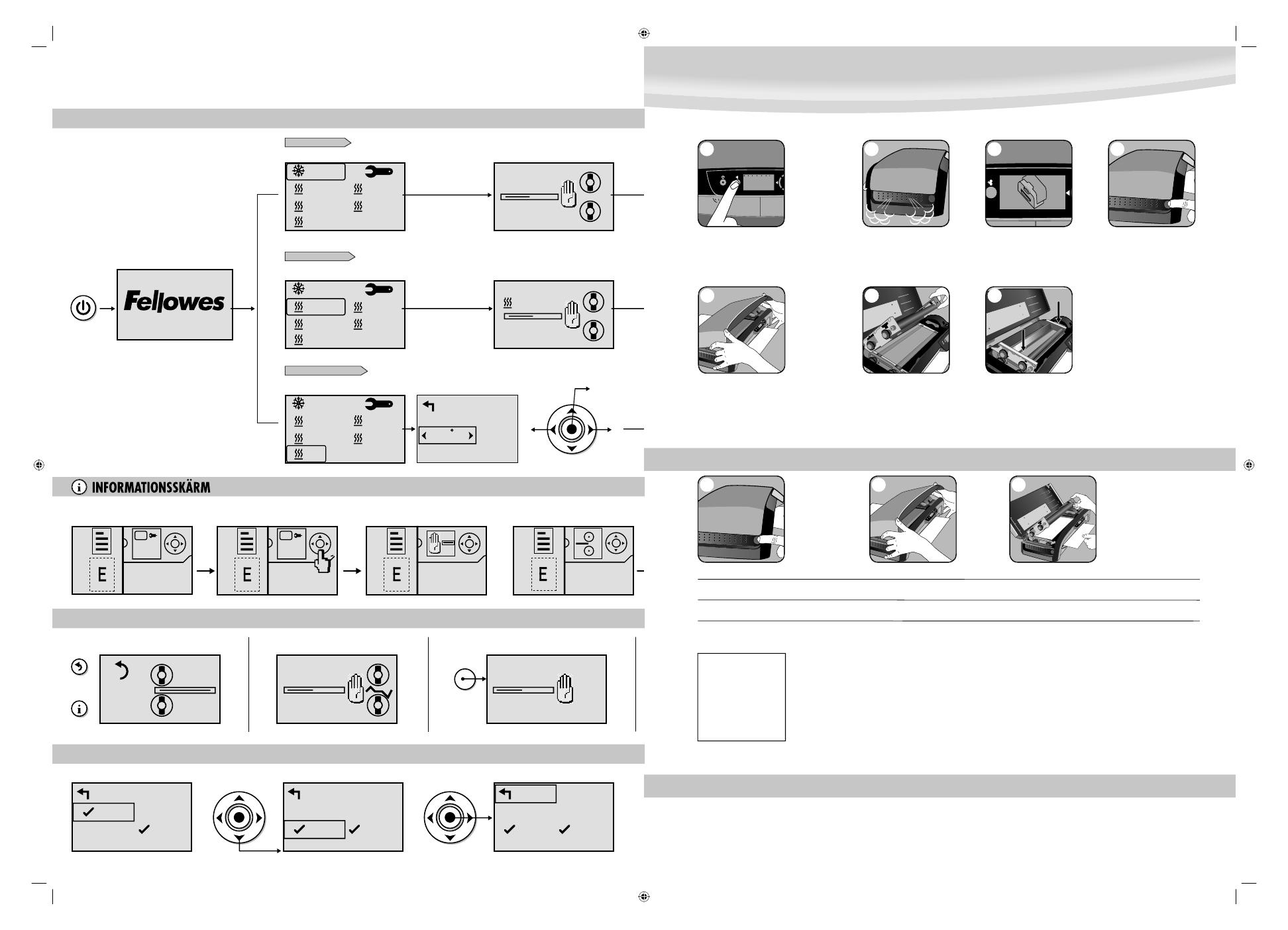 Инструкция по эксплуатации ламинатора