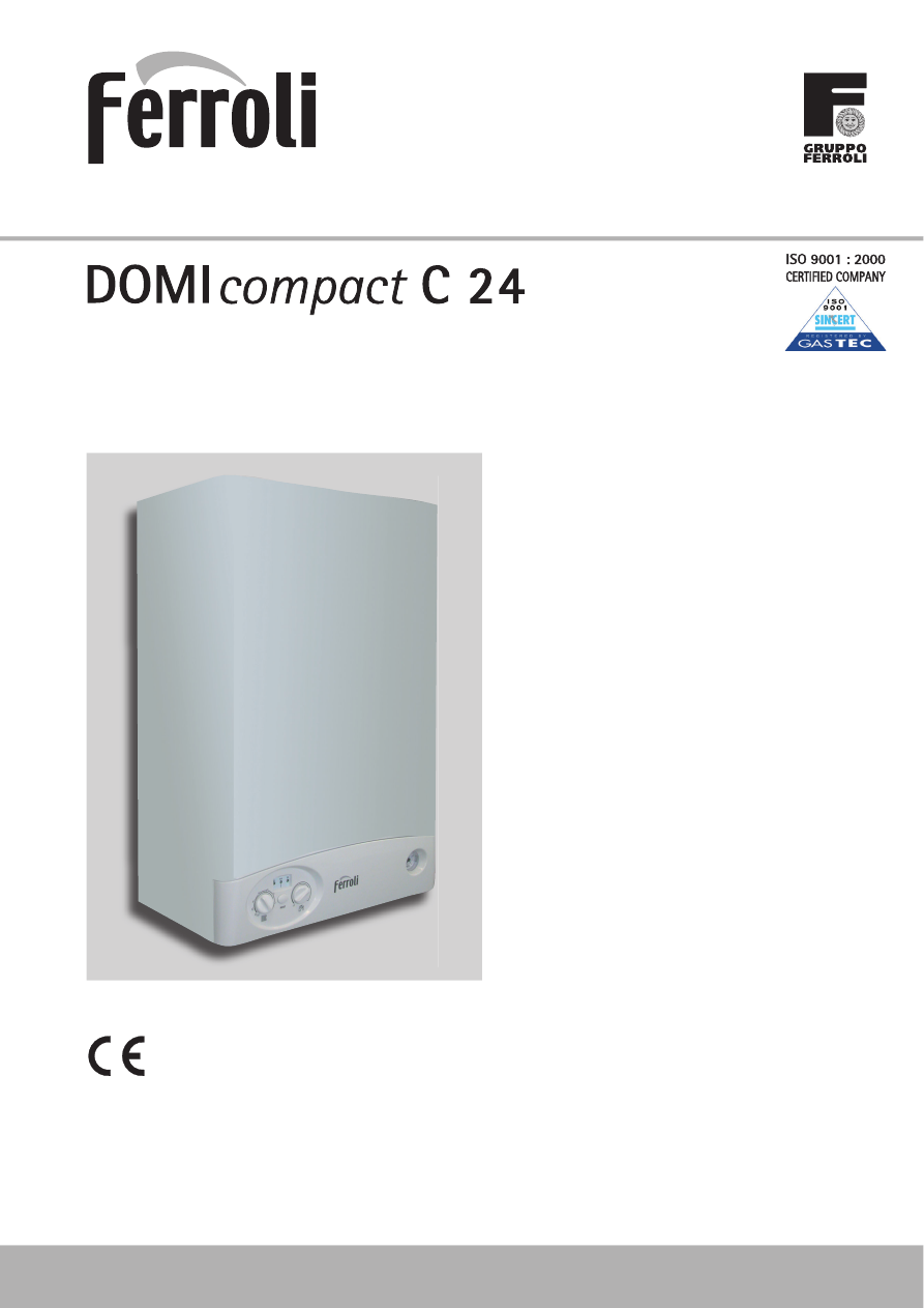 Ferroli domicompact c 24 arenaresurs for Ferroli domina c 24 e