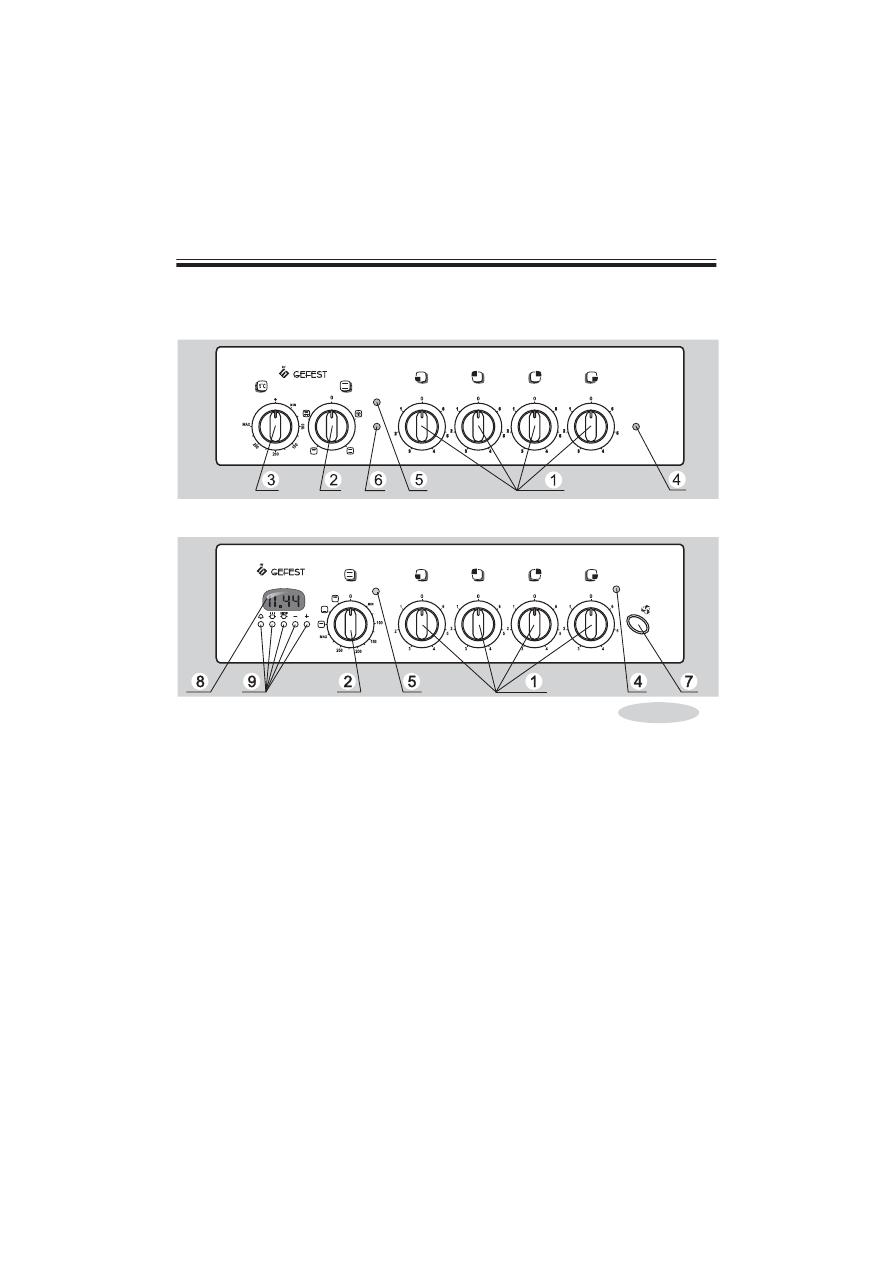 Инструкция к электроплите гефест
