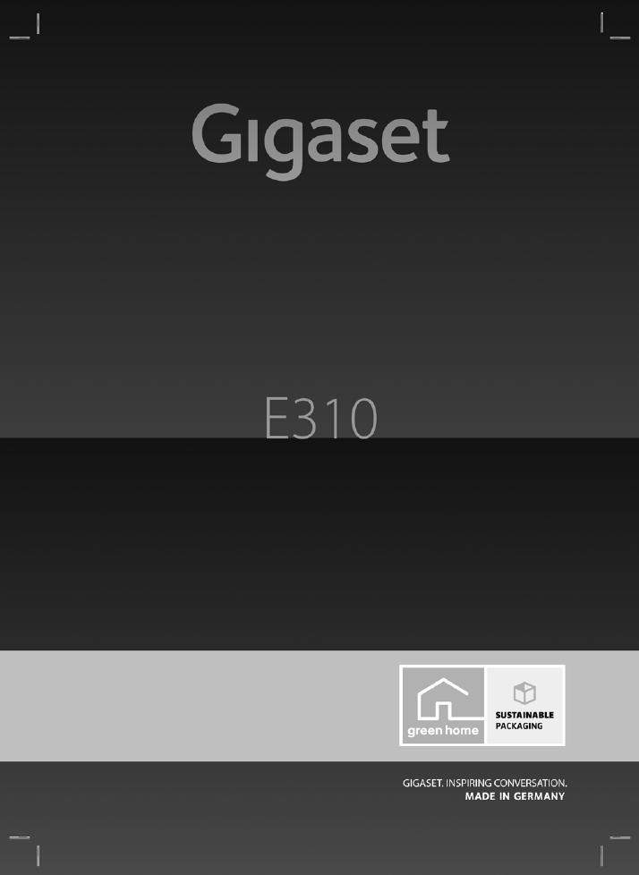 Gigaset E310 Инструкция - фото 9