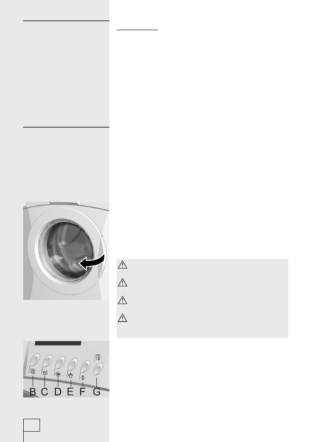 Ws 43101 Gorenje инструкция - фото 7