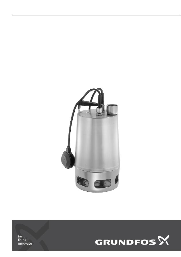 водяной насос Grundfos инструкция - фото 3
