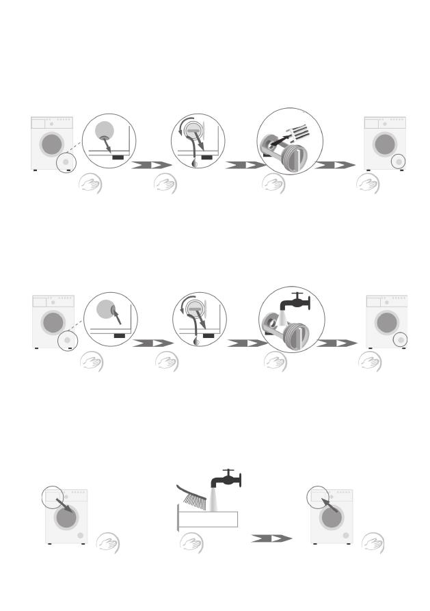Инструкция к стиральная машина hansa