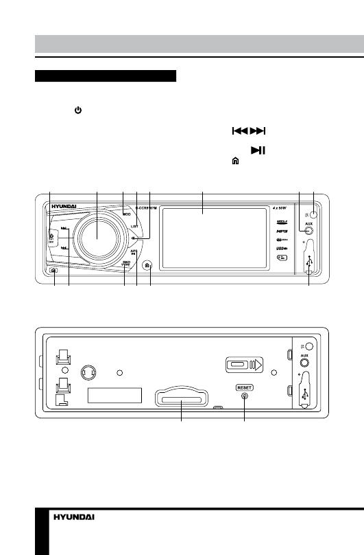 Hyundai h-ccr8187m инструкция