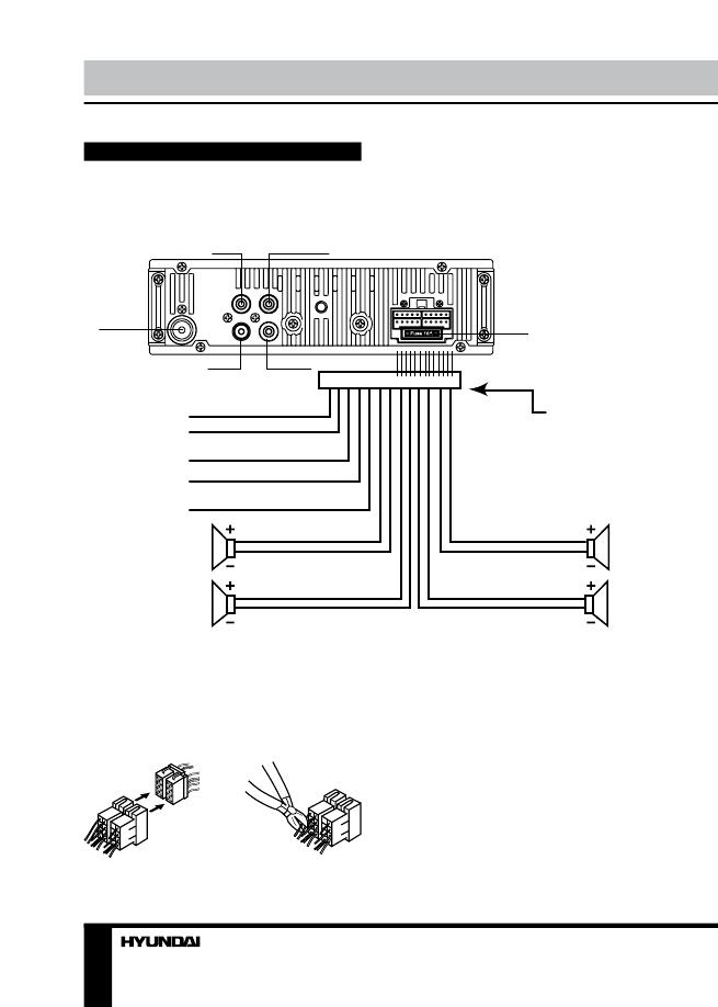 Схема автомагнитола hyundai h