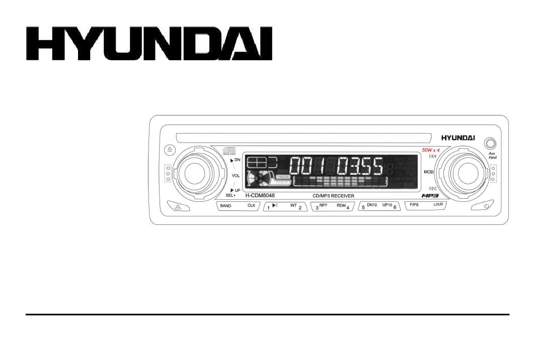 Автомагнитолы hyundai инструкция