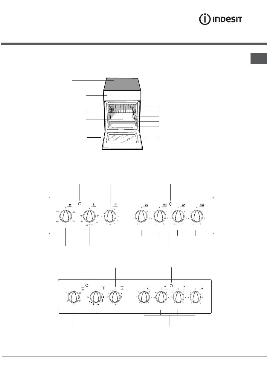 Страница 4/14] инструкция: плита indesit mvk5 v75 rf, kn3c767 a.