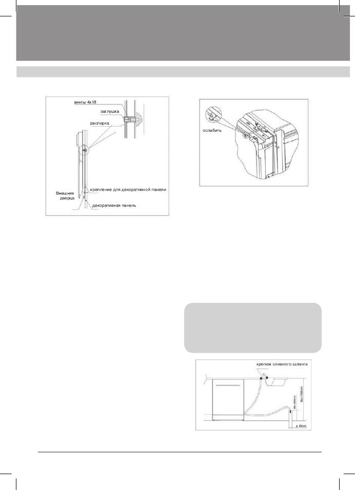 Инструкция к посудомоечной машине крона