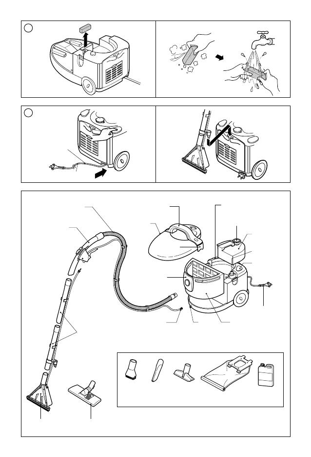 Инструкция пылесоса lg hippo