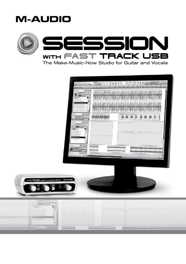 M audio fast track инструкция