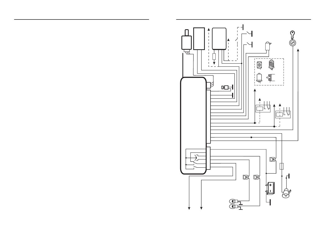 схема подключения сигнализации cenmax a-900