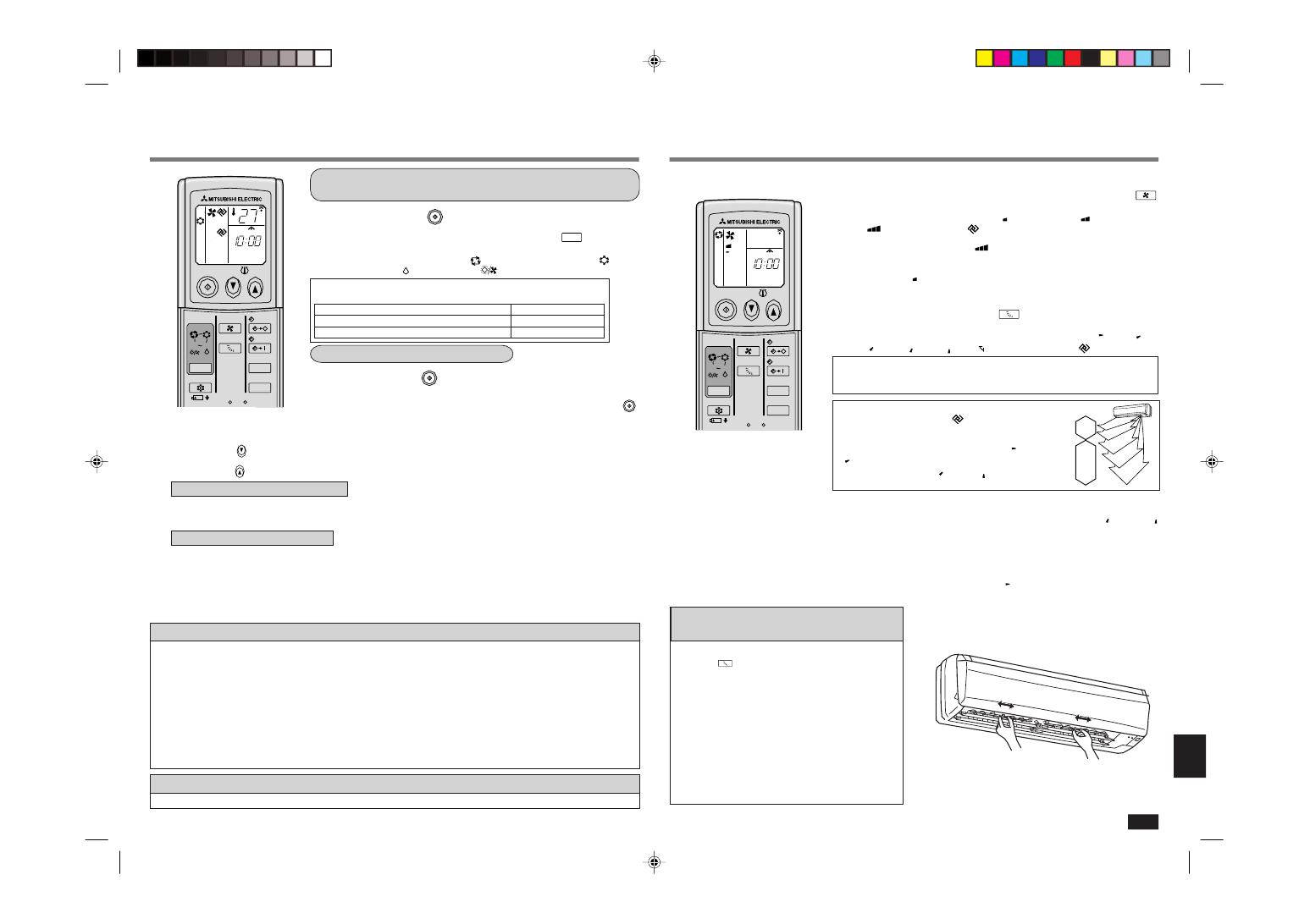 инструкция с пульту кондиционера mitsubishi electronic