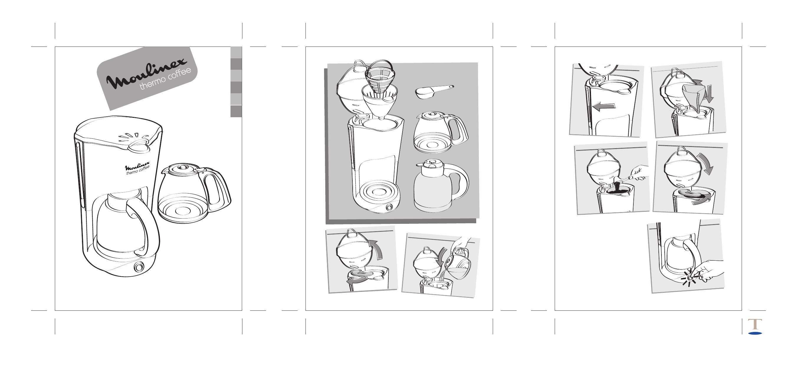 Инструкция кофеварка moulinex