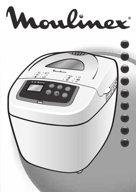 Инструкция для хлебопечки мулинекс