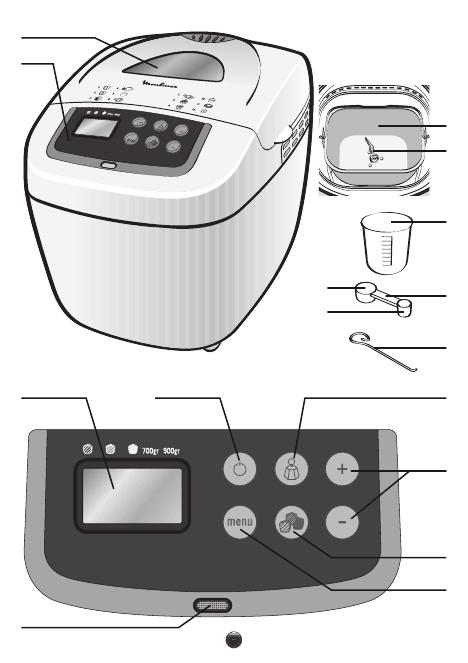 Хлебопечка moulinex ow110130 инструкция