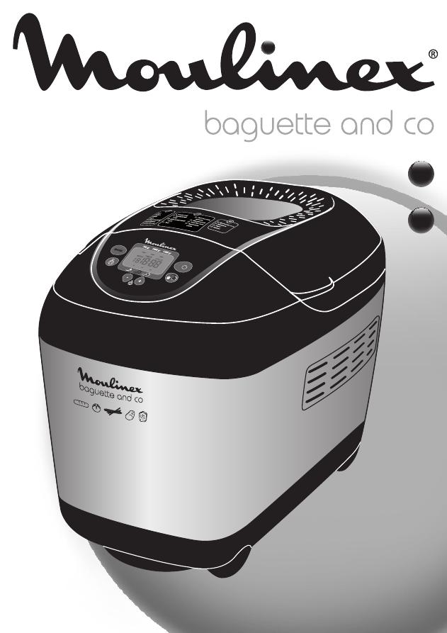 хлебопечка moulinex baguette and co инструкция