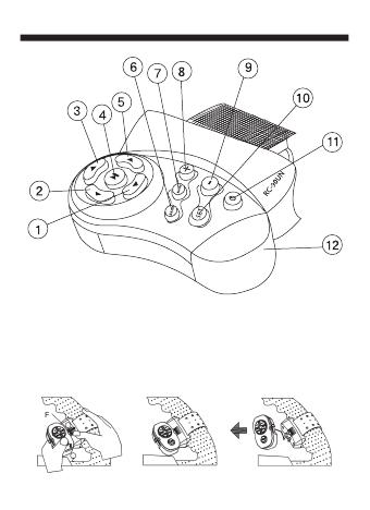 инструкция по эксплуатации Mystery Rc-90un - фото 5