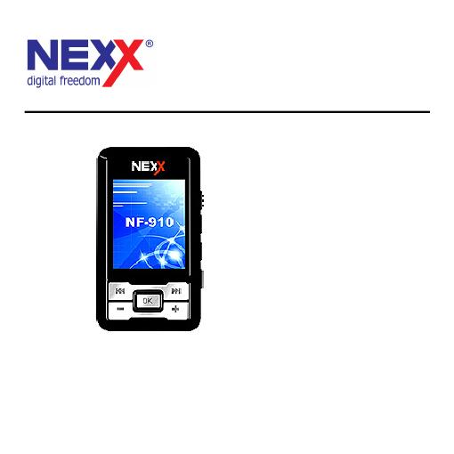 инструкция плеер nexx