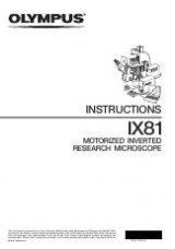 olympus ix81 basic manual