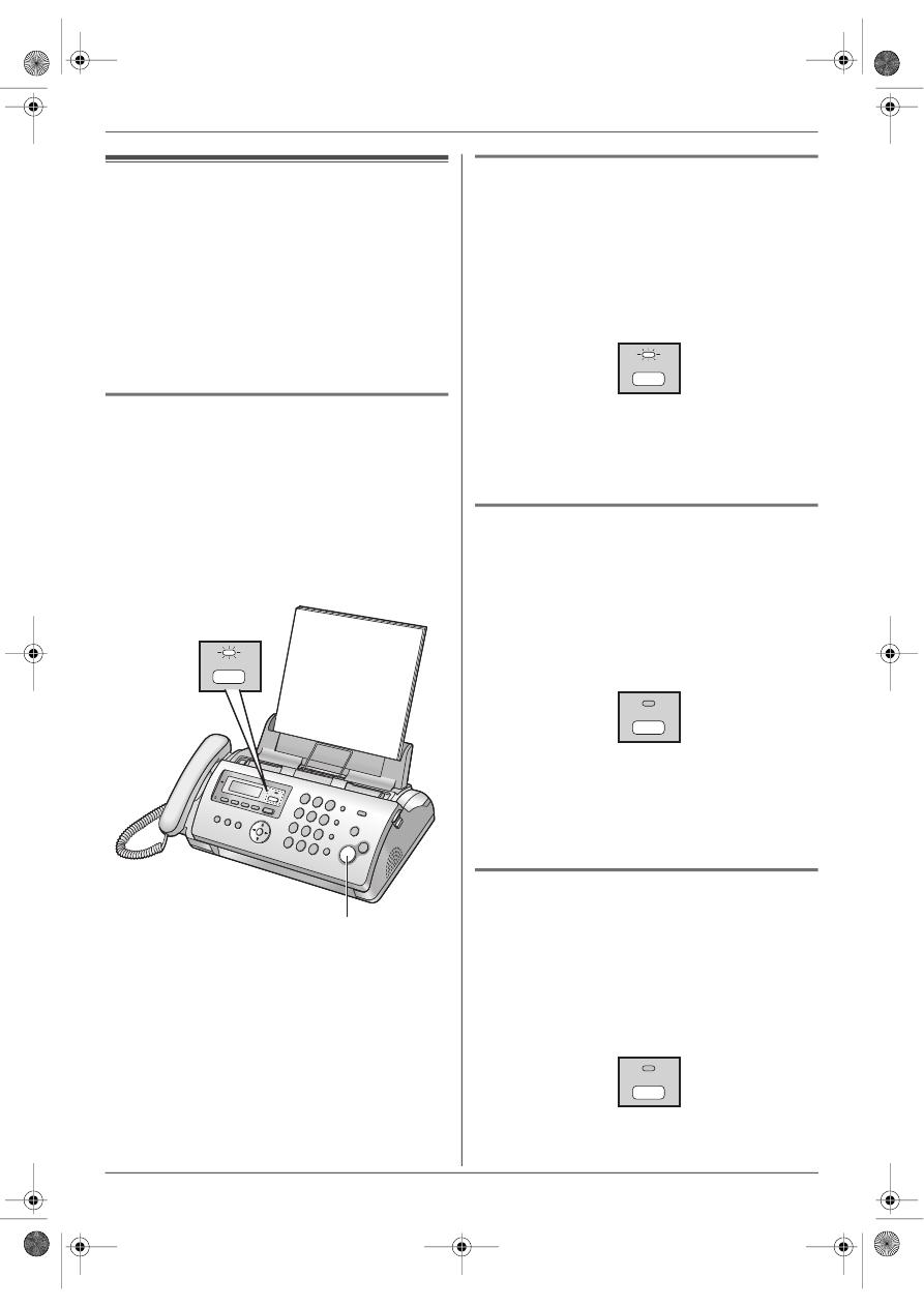 Инструкция факса panasonic kx fp207ru