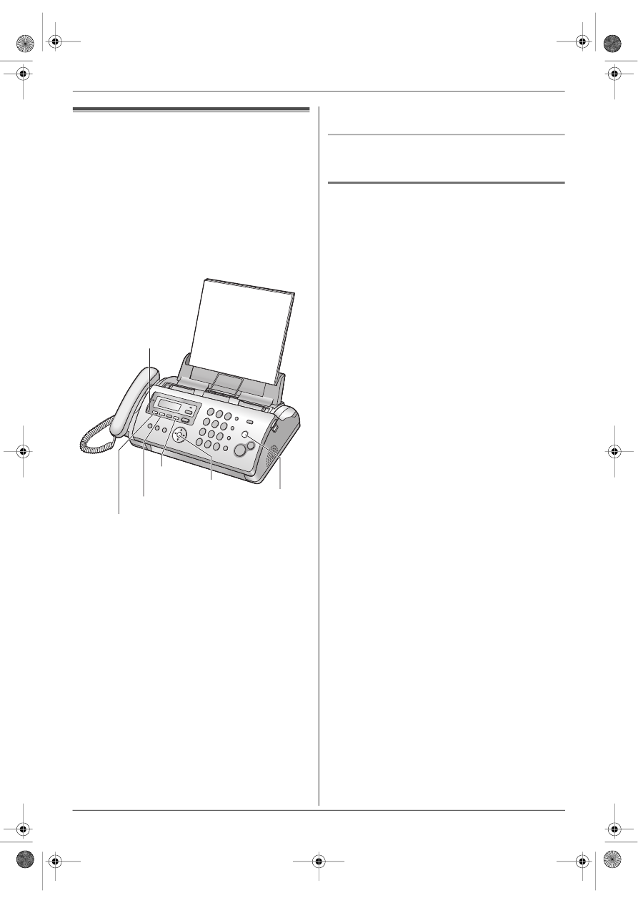 Инструкция факс panasonic kx fp207