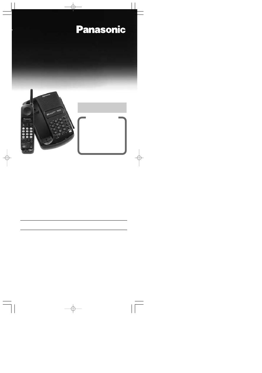 Инструкция телефона панасоник kx a36a