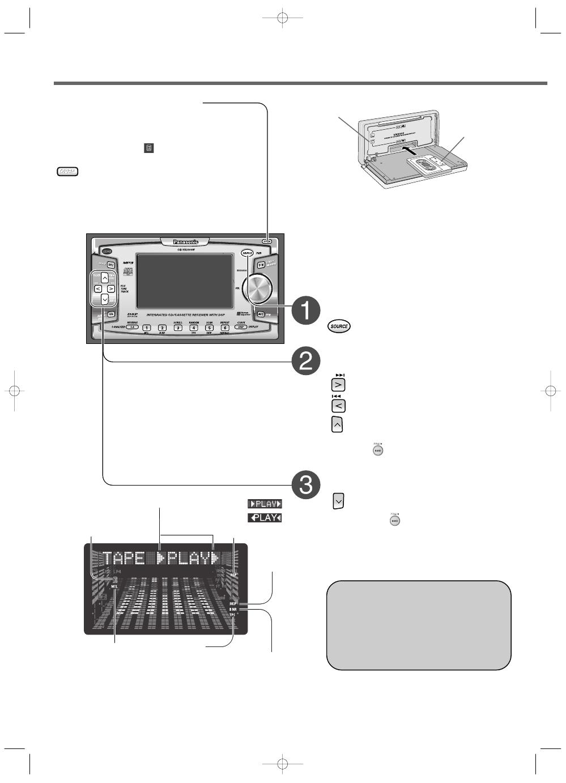 Panasonic cq vx2300w инструкция