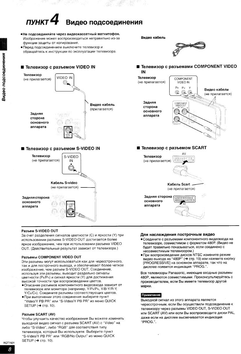 Инструкция panasonic sc ht520 бесплатно