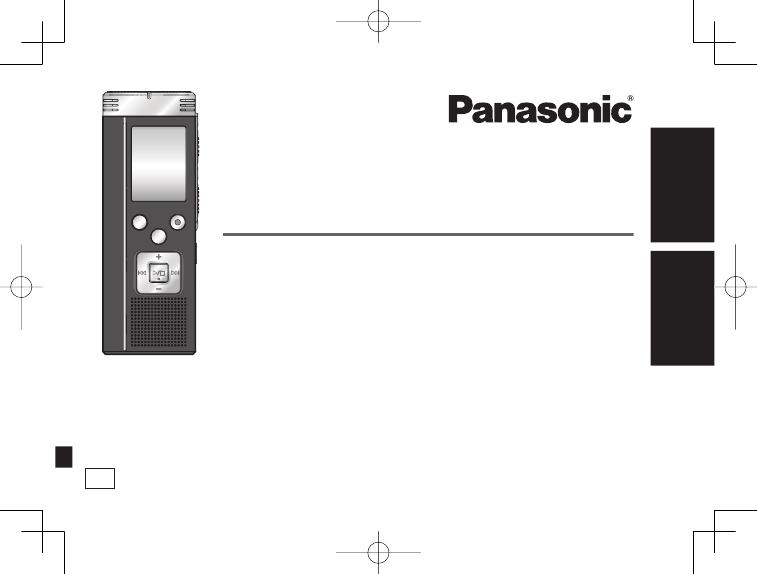 Инструкция диктофон панасоник