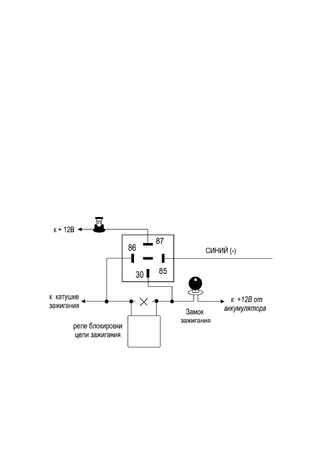 Схема pantera clk-375