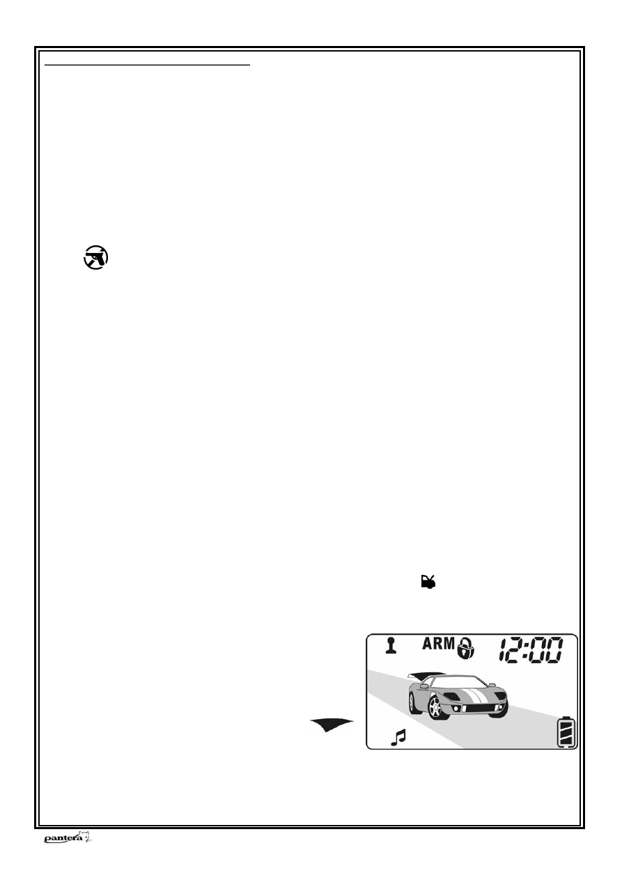автосигнализация пантера slk 625rs инструкция