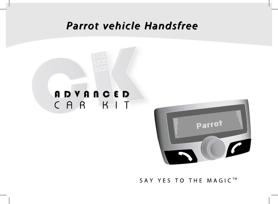 Parrot ck3100 lcd инструкция
