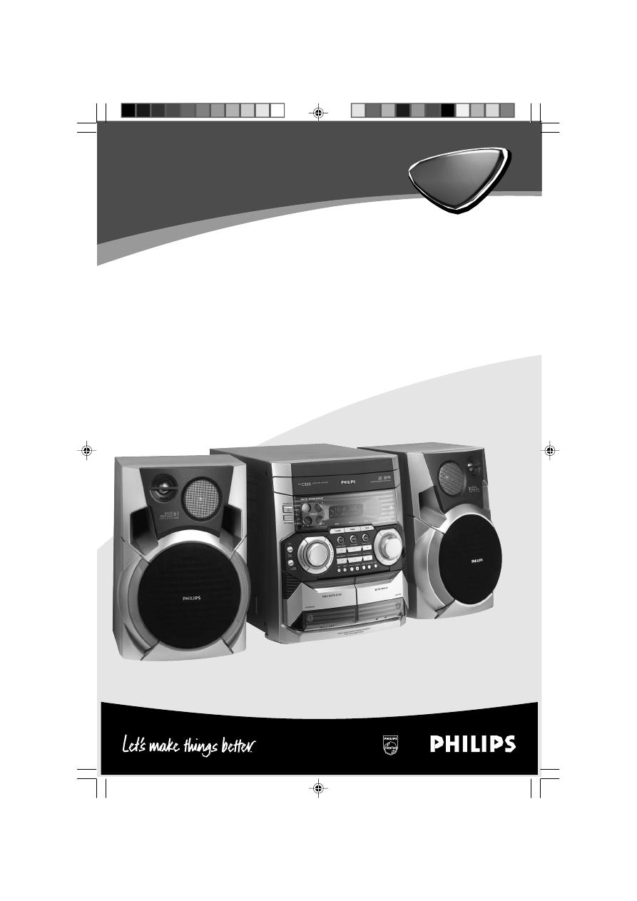 инструкция philips fwm210/12