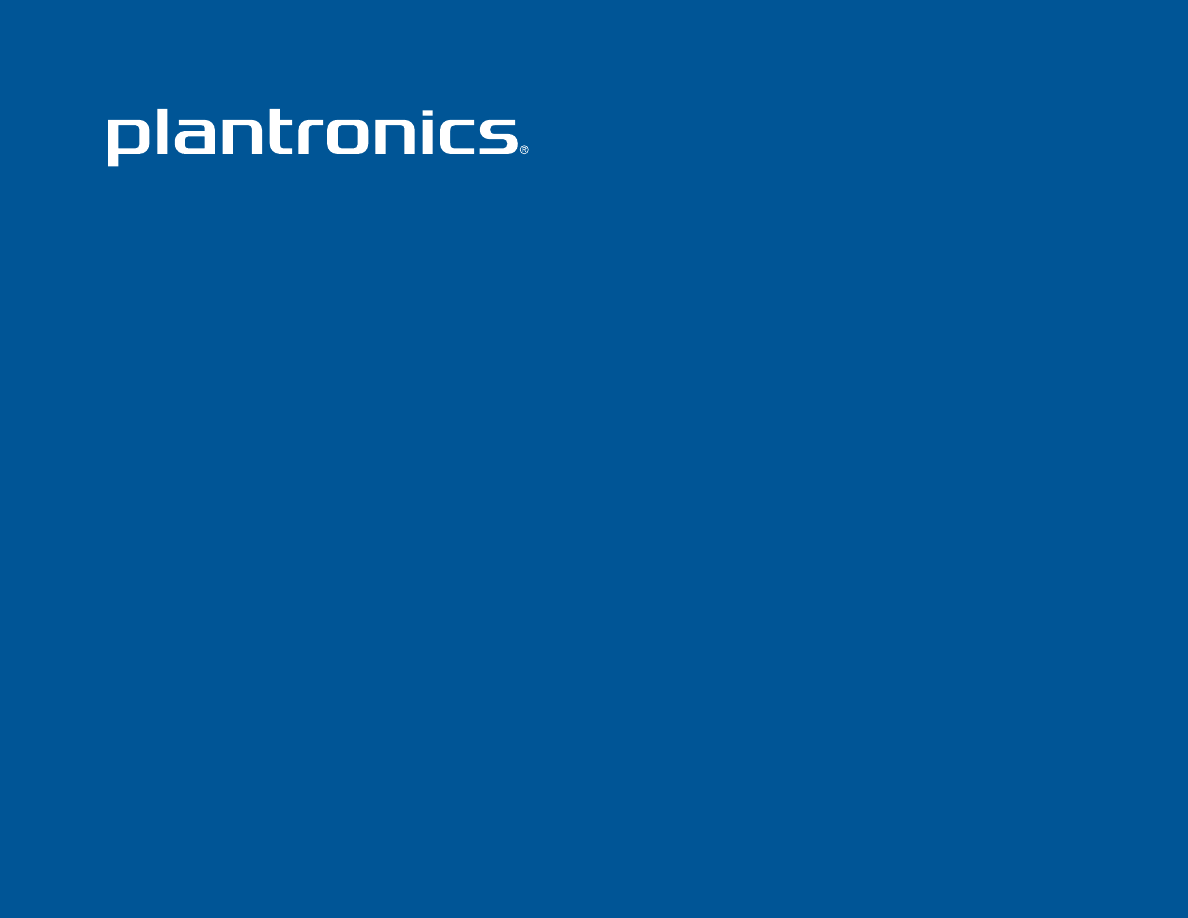 Инструкция plantronics savor m1100