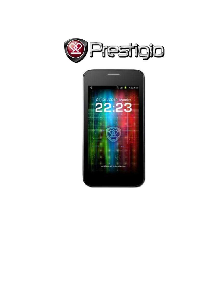 Инструкция prestigio 3500