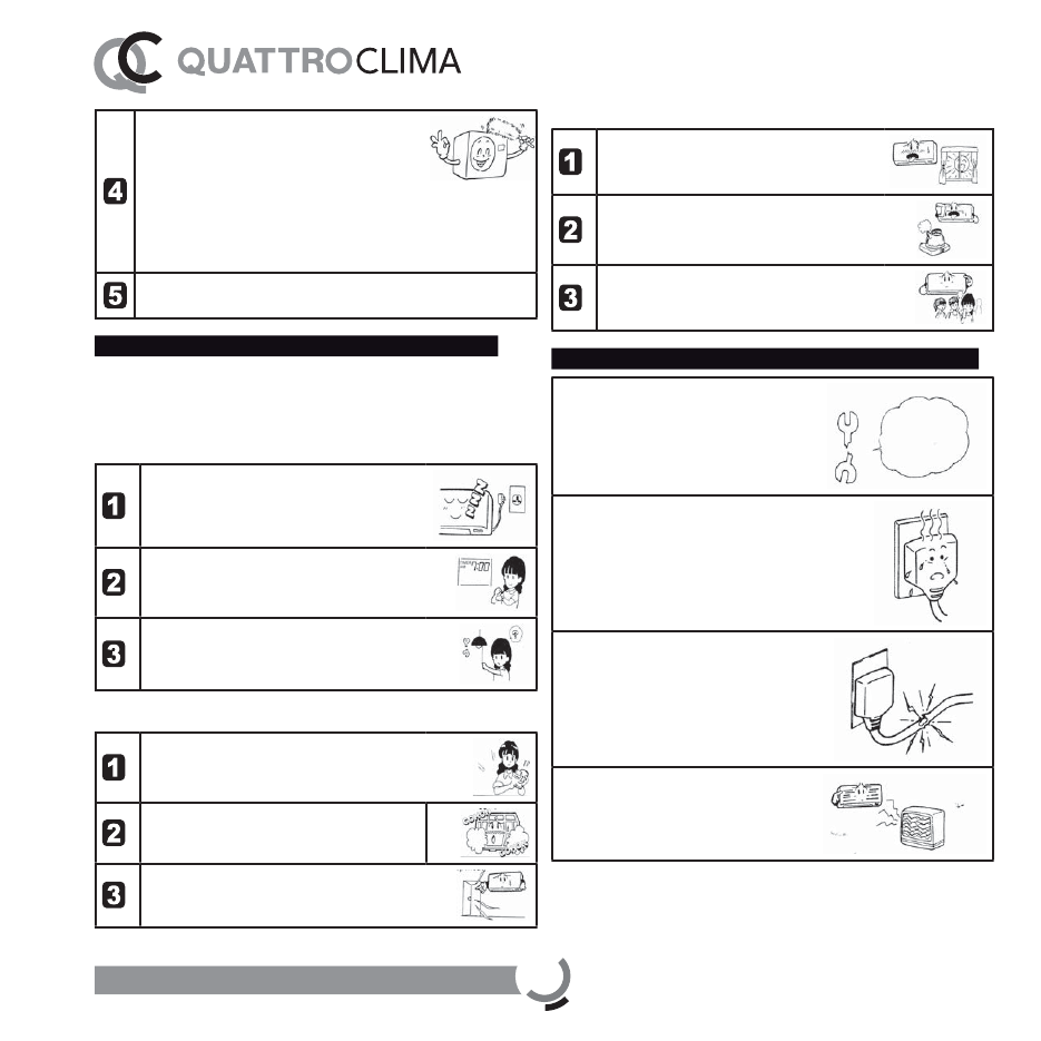 Quattroclima Qv F12wa инструкция - фото 4