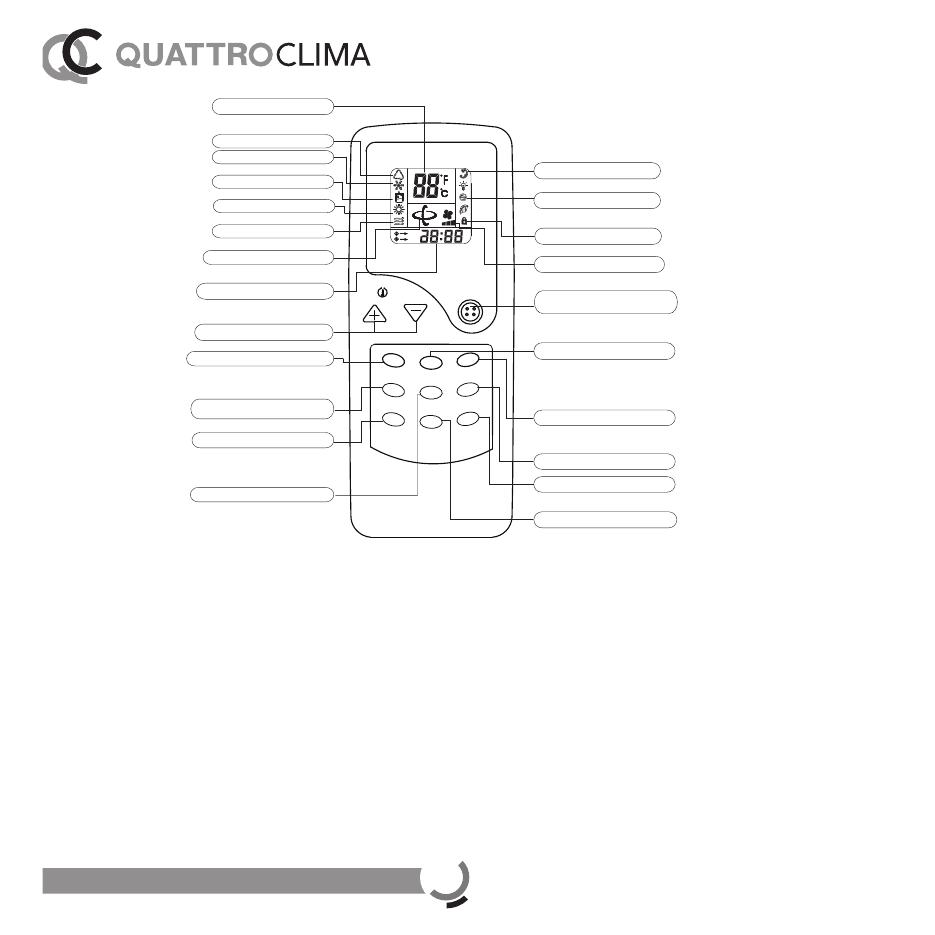 Quattroclima Qv F12wa инструкция - фото 7