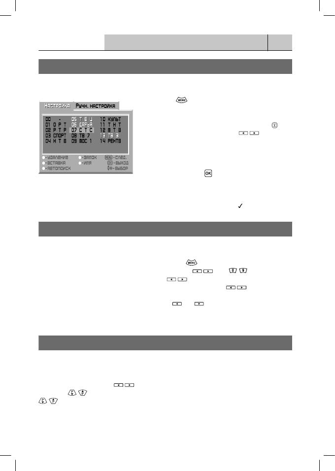 Инструкция rolsen 29sr157