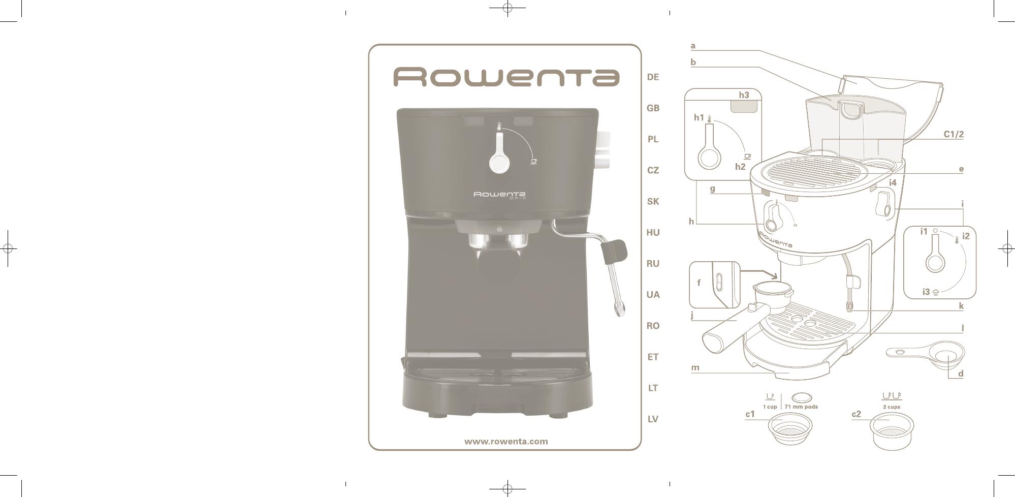 Инструкция rowenta es 3200