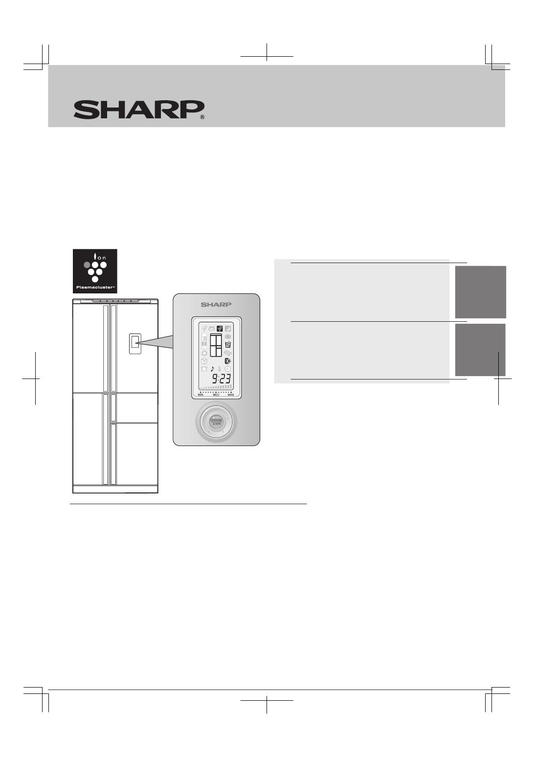 холодильник sharp sj-sc55pvbk инструкция по установке